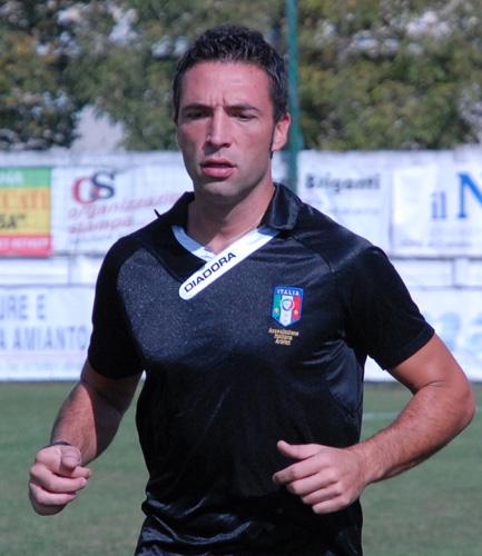 <strong>IL DIRETTORE DI GARA MANUEL GIULIANI DI TERAMO</strong>